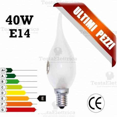 Lampada a incandescenza colpo di vento 40W E14