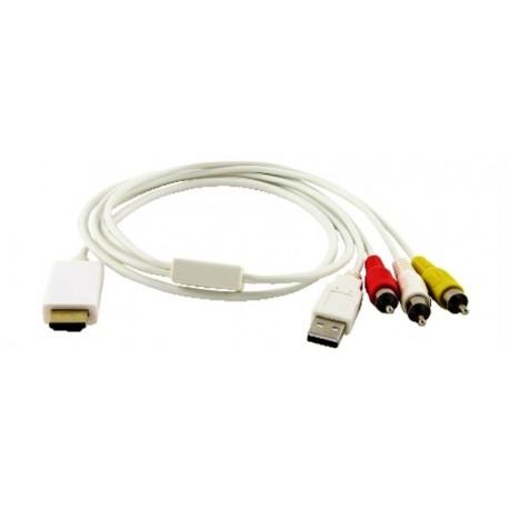Convertitore audio video HDMI a RCA