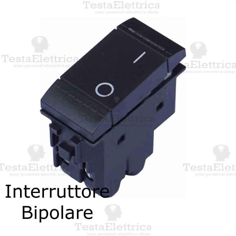Schema Collegamento Interruttore Bipolare Bticino : Interruttore bipolare compatibile serie living light bticino
