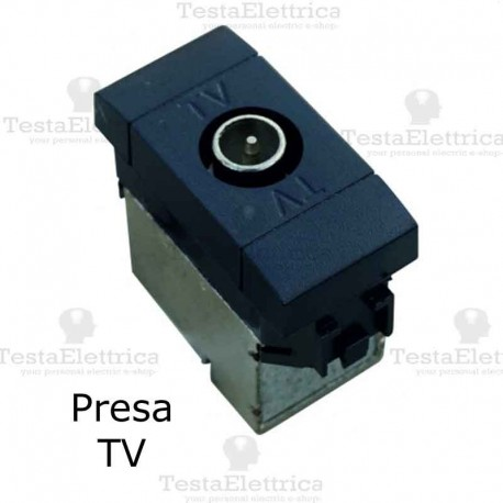 Presa tv compatibile con serie Bticino living