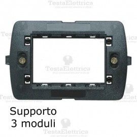 Supporto in PVC compatibile con serie Bticino LivingLight