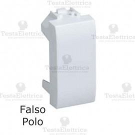 Falso polo bianco compatibile con serie Bticino LivingLight