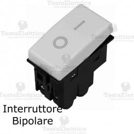 Interruttore Bipolare compatibile con serie Bticino Matix