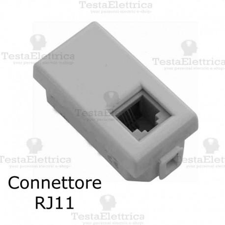 Presa Telefonica RJ11 compatibile con serie Bticino Matix