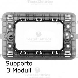 Supporto in ABS compatibile con serie Bticino Matix