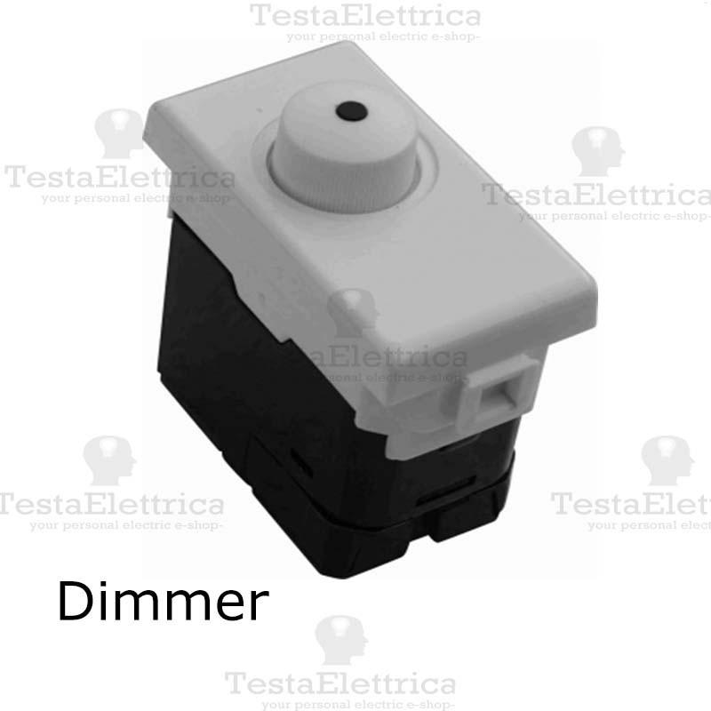 Schema Collegamento Dimmer : Dimmer compatibile serie matix bticino