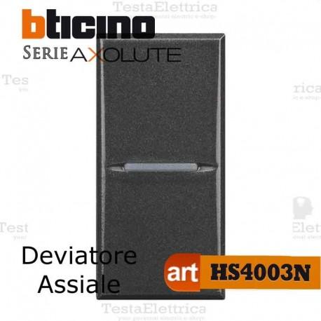 Deviatore 1P 10 AX  250 Va.c. Bticino Axolute