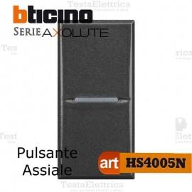 Pulsante 1P 10 AX  250 Va.c. Bticino Axolute