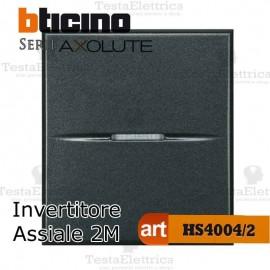 Invertitore 1P 2 moduli 16 AX  250 Va.c. Bticino Axolute
