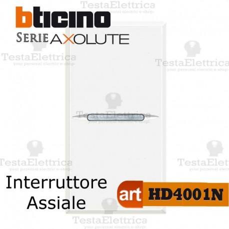 Interruttore 1P 10 AX  250 Va.c. Bticino Axolute