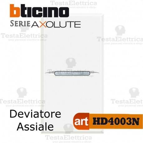 Deviatore1P 10 AX  250 Va.c. Bticino Axolute