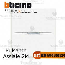 Pulsante 1P NO 10 A 250 Vac Bticino Axolute