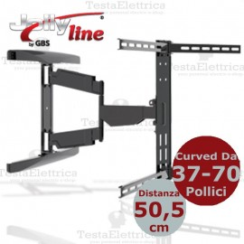 Staffa per TV curve 37- 80 Pollici CURVED-3780 SLIM JollyLine