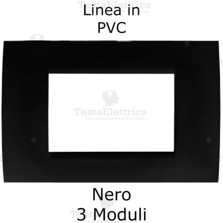 Placca PVC Avorio compatibile con serie Bticino Matix