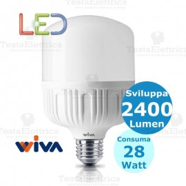 Lampadina a led hi power wiva 12100059 28W