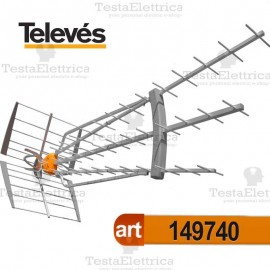Antenna UHF DAT BOSS LR Tforce televes 149740