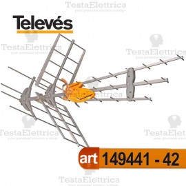 Antenna BIII/UHF DAT BOSS MIX Tforce televes