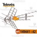 Antenna BIII/UHF DAT BOSS MIX Tforce televes