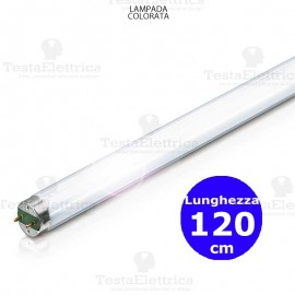 Tubo a Led colorato Blu 120 cm 18 watt T8