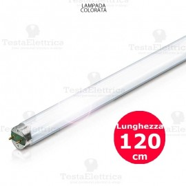 Tubo a Led colorato Rosso 120 cm 18 watt T8