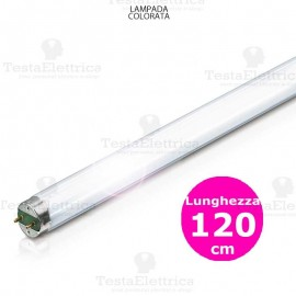 Tubo a Led colorato Viola 120 cm 18 watt T8