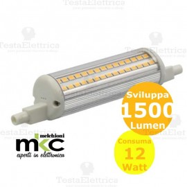 Lampadina led dimmerabile R7s  12W 240° MKC