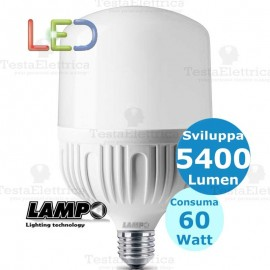 Lampadina a led Hi-Power E27 60 Watt Lampo