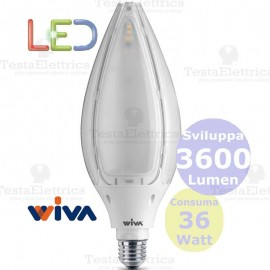 Lampadina a led hi power tulip WIVA