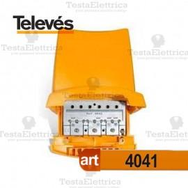 Miscelatore da palo VHF UHF UHF Televes con passaggio di corrente