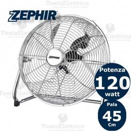Ventilatore industriale acciaio Pf45CR Zephir
