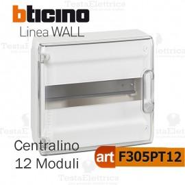 Centralino da parete serie wall F305PT12 12 moduli Bticino