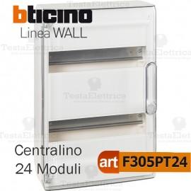 Centralino da parete serie wall F305PT24 24 moduli Bticino