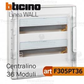 Centralino da parete serie wall F305PT36 36 moduli Bticino