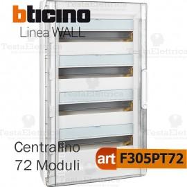 Centralino da parete serie wall F305PT72 72 moduli Bticino