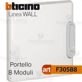 Portello bianco per Centralino da parete 8 Moduli serie Wall Bticino f305b8