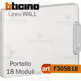 Portello bianco per Centralino da parete 18 Moduli serie Wall Bticino
