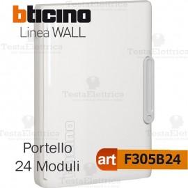 Portello bianco per Centralino da parete 24 Moduli serie Wall Bticino