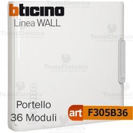 Portello bianco per Centralino da parete 36 Moduli serie Wall Bticino