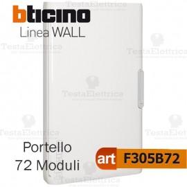Portello bianco per Centralino da parete 72 Moduli serie Wall Bticino