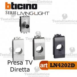Presa TV-SAT diretta Bticino LivingLight