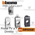 Presa TV-SAT diretta a F Bticino LivingLight