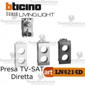 Presa TV-SAT diretta demiscelata Bticino LivingLight
