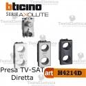 Presa TV-SAT diretta demiscelata Bticino Axolute