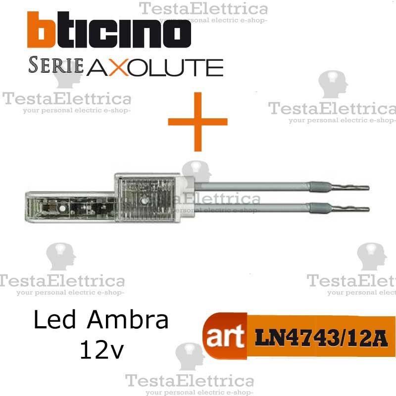 BTICINO  HC4005N PULSANTE 1P NO 10 A 250 Vac