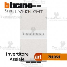 Invertitore assiale 1P Antracite Bticino LivingLight
