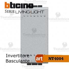 Invertitore 1P illuminabile 16 AX 250 Vac Bianco Bticino LivingLight