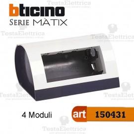 Cassetta da tavolo per 4 Moduli Matix Bticino