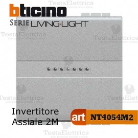 Invertitore 1P 2 moduli Bticino LivingLight Tech