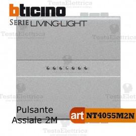 Pulsante 1P 2 moduli Bticino LivingLight Tech