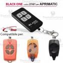 Telecomando compatibile Aprimatic auto apprendente BlackOne